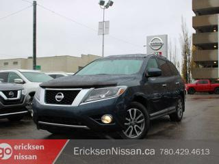 Used 2013 Nissan Pathfinder SL l AWD l Leather l Roof l Heated seats l Backup Camera l 7 Passenger for sale in Edmonton, AB