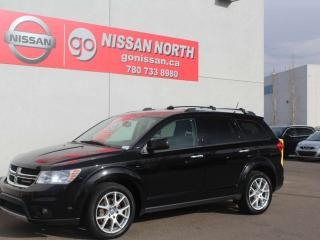 Used 2017 Dodge Journey GT/AWD/LEATHER/DVD/HEATED SEATS/WHEEL for sale in Edmonton, AB