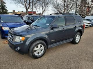 Used 2008 Ford Escape XLT; SUNROOF, HEATED SEATS, LEATHER, 4WD AND MORE for sale in Edmonton, AB