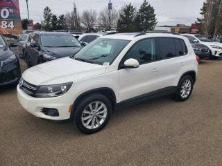 Used 2012 Volkswagen Tiguan COMFORTLINE; BLUETOOTH, CRUISE CONTROL, HEATED SEATS, LEATHER AND MORE for sale in Edmonton, AB