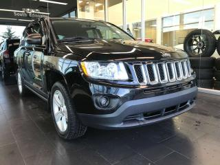 Used 2012 Jeep Compass SPORT 4WD, HEATED SEATS, POWER OUTLET, SATELLITE RADIO CAPABILITY for sale in Edmonton, AB