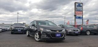 Used 2017 Chevrolet Cruze LT Hatchback for sale in Brampton, ON