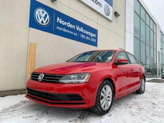 Used 2017 Volkswagen Jetta Sedan WOLFSBURG EDITION M/T - SUNROOF / HEATED SEATS for sale in Edmonton, AB