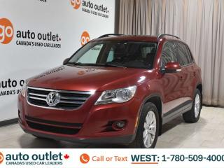 Used 2009 Volkswagen Tiguan Trendline, 2.0L I4, Awd, Cloth seats, Heated seats, Sunroof,Moonroof for sale in Edmonton, AB