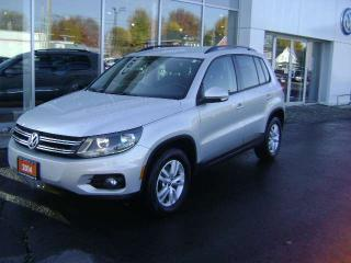 Used 2014 Volkswagen Tiguan TRENDLINE 4- MOTION for sale in Cornwall, ON