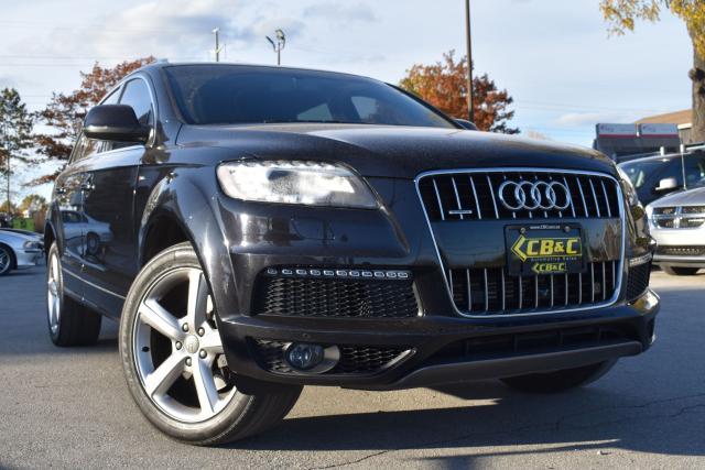 2014 Audi Q7 3.0L TDI Technik - S LINE - CERTIFIED