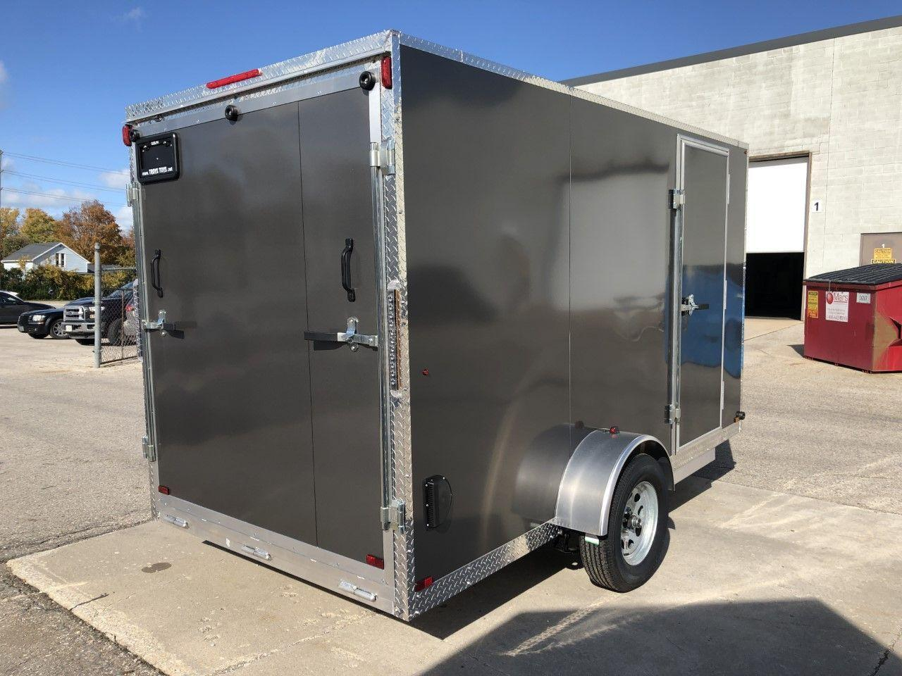 2020 Canadian Trailer Company 6x12 V-Nose Cargo Trailer