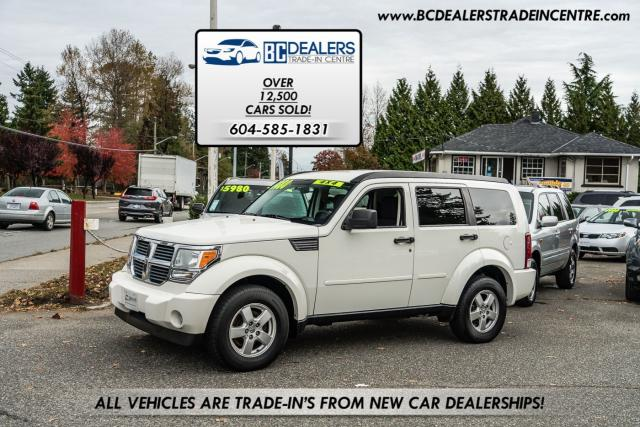 2008 Dodge Nitro SE 4x4, V6, 27 Service Records, No Accident, Clean