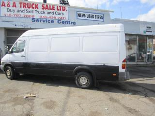 Used 2005 Mercedes-Benz Sprinter hi roof long box tow sunroof for sale in North York, ON