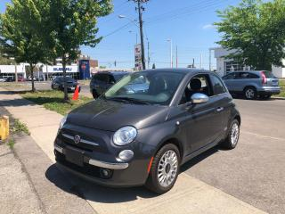 Used 2015 Fiat 500 Lounge for sale in Toronto, ON