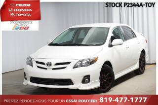 Used 2013 Toyota Corolla SPORT* MANUELLE* JAMAIS ACCIDENTÉ* for sale in Drummondville, QC