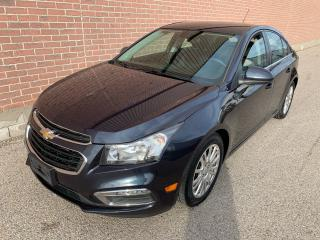 Used 2016 Chevrolet Cruze Eco for sale in Ajax, ON