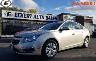 Used 2015 Chevrolet Cruze 1LT    GAS MISER!! for sale in Barrie, ON