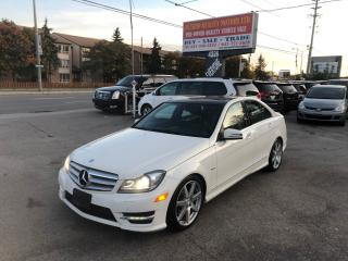 Used 2012 Mercedes-Benz C-Class C 350 NAVI, PANO, KEYLESS, HEATED for sale in Toronto, ON