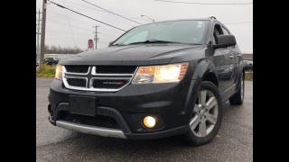 Used 2012 Dodge Journey R/T 7PASSENGER NAV CAM AWD CERTIFIED for sale in Toronto, ON
