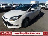Photo of White 2013 Ford FOCUS TITANIUM 4D SEDAN 2.0L