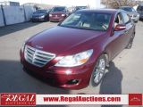 Photo of Maroon 2009 Hyundai GENESIS  4D SEDAN RWD 4.6L