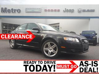 Used 2008 Audi A4 2.0T AS-IS for sale in Ottawa, ON