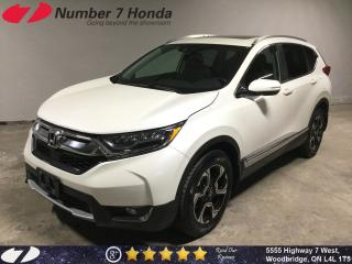Used 2017 Honda CR-V Touring| Loaded Options| Leather| Navi| for sale in Woodbridge, ON