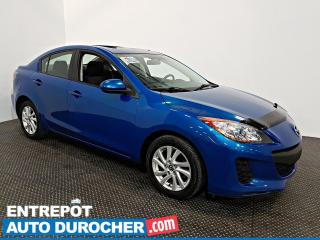 Used 2013 Mazda MAZDA3 GS-SKY TOIT OUVRANT - A/C - Groupe Électrique for sale in Laval, QC