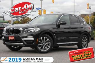 Used 2018 BMW X3 xDrive30i PREMIUM LEATHER NAV PANO ROOF LOADED for sale in Ottawa, ON