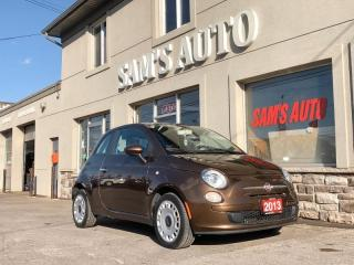 Used 2013 Fiat 500 2DR HB POP for sale in Hamilton, ON