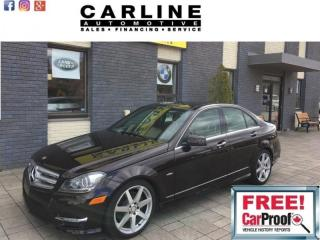 Used 2012 Mercedes-Benz C-Class 4dr Sdn 3.5L 4MATIC for sale in Nobleton, ON