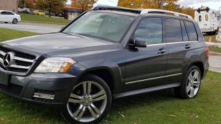 Used 2011 Mercedes-Benz GLK-Class for sale in Brampton, ON