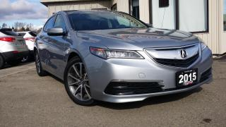 Used 2015 Acura TLX AWD-V6 TECH - NAVIGATION! BACK-UP CAM! BSM! for sale in Kitchener, ON