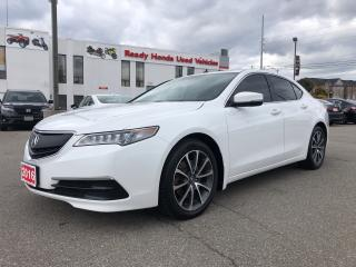 Used 2016 Acura TLX V6 AWD Tech Pkg | Leather | Navigation |Sunroof for sale in Mississauga, ON
