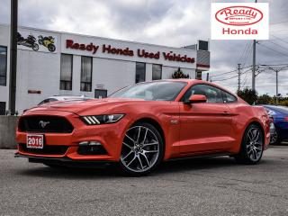 Used 2016 Ford Mustang GT Premium  - Leather - Navigation - Auto Start for sale in Mississauga, ON