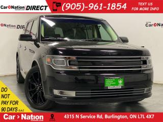 Used 2019 Ford Flex Limited| AWD| LEATHER| BACK UP CAMERA| for sale in Burlington, ON