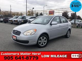 Used 2008 Hyundai Accent GL  4DR SEDAN AUTO POWER-GROUP for sale in St. Catharines, ON