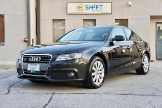 Used 2011 Audi A4 2.0T PREMIUM PLUS QUATTRO, NAVIGATION, NO ACCIDENTS for sale in Burlington, ON