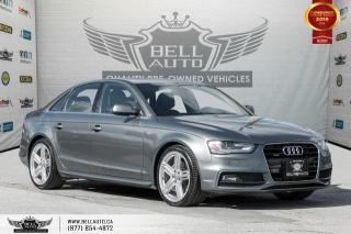 Used 2015 Audi A4 Technik plus, S-LINE, AWD, NO ACCIDENT, NAVI, BACK-UP CAM for sale in Toronto, ON