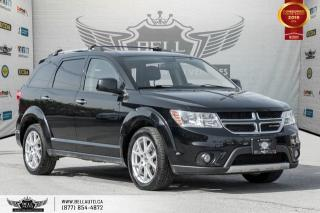 Used 2016 Dodge Journey R/T, AWD, 7 PASS, NO ACCIDENT, PARK ASSIST, LEATHER for sale in Toronto, ON