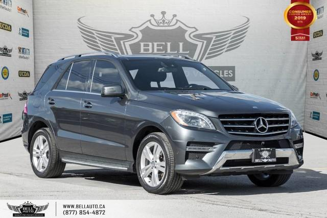 2015 Mercedes-Benz ML-Class ML 350 BlueTEC, AWD, NAVI, 360 CAM, SENSORS