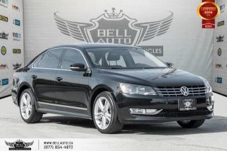 Used 2014 Volkswagen Passat Highline, NAVI, BACK-UP CAM, SUNROOF, LEATHER for sale in Toronto, ON