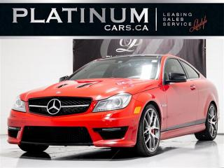 Used 2014 Mercedes-Benz C-Class C63, 507 EDIT, AMG, NAV, CAM, PANO, HARMAN/KARDON for sale in Toronto, ON