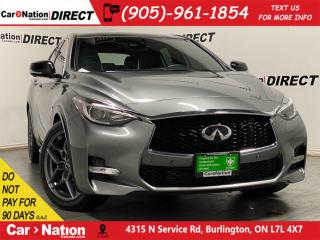 Used 2017 Infiniti QX30 Sport| PANO ROOF| NAVI| PARKING SENSORS| for sale in Burlington, ON