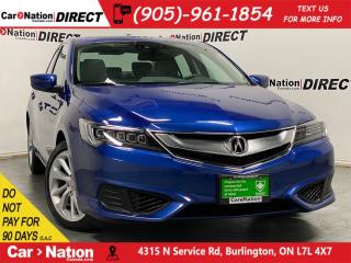 Used 2017 Acura ILX Premium| SUNROOF| NAVI| BACK UP CAMERA| for sale in Burlington, ON
