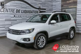 Used 2014 Volkswagen Tiguan COMFORTLINE+CUIR+TOIT+AWD for sale in Laval, QC