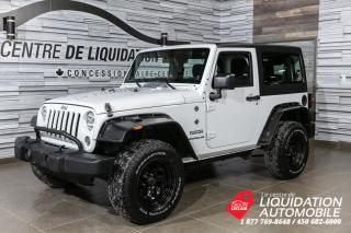 Used 2014 Jeep Wrangler SPORT for sale in Laval, QC