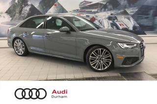 Used 2019 Audi S4 2.0T Technik + Nav | Rear Cam | Side Assist for sale in Whitby, ON