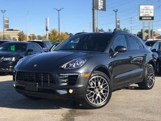 Used 2017 Porsche Macan S Navi|Pasm|Pano Roof|Premium + PKG| for sale in Mississauga, ON