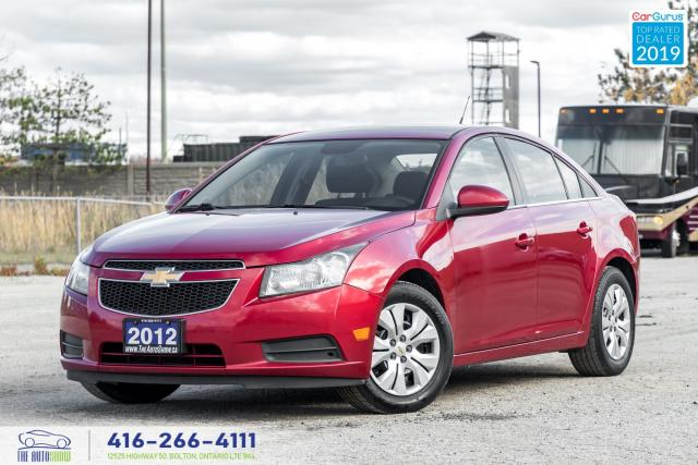 2012 Chevrolet Cruze LT 1.4T A6 Service Records Certifed Clean Finance