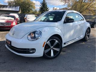 Used 2012 Volkswagen Beetle Sportline | Auto | Sunroof |  Htd Leather | for sale in St Catharines, ON