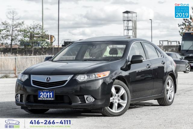2011 Acura TSX Auto*Leather*Roof Clean Carfax Certified WeFinance