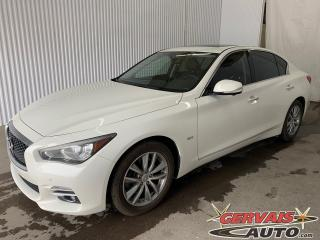 Used 2017 Infiniti Q50 3.0t AWD Cuir Toit Ouvrant MAGS Caméra for sale in Shawinigan, QC