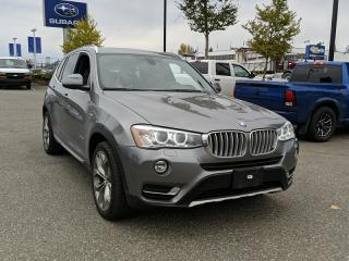 Used 2015 BMW X3 xDrive28i BACKUP CAMERA / PANO-SUNROOF for sale in Surrey, BC